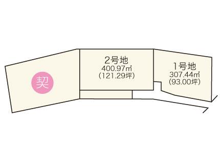 南泉ヶ丘【全3区画】区画図