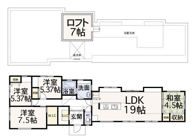 南泉ヶ丘【限定1邸・全3区画】区画図
