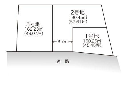 井原里【全3区画】区画図