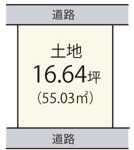 大町【限定1区画】区画図