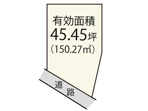 田治米町【限定1区画】区画図
