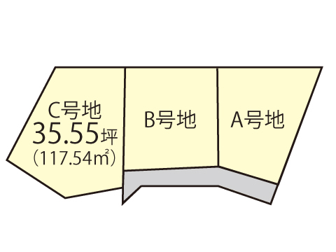 土生町【限定1区画】区画図