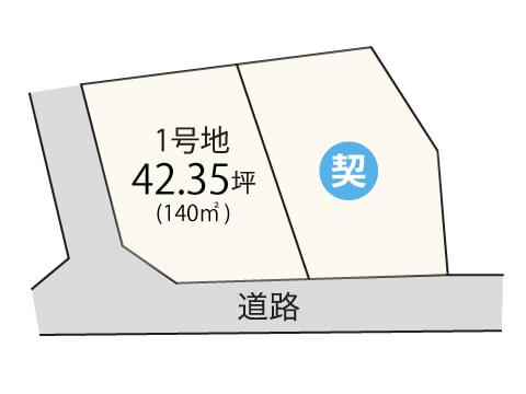 地蔵堂【限定1区画】区画図