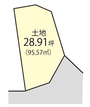 三田町(限定1区画)区画図