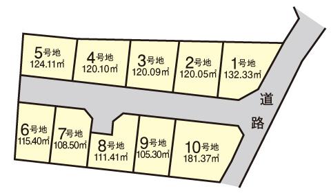 俵屋【全10区画】区画図
