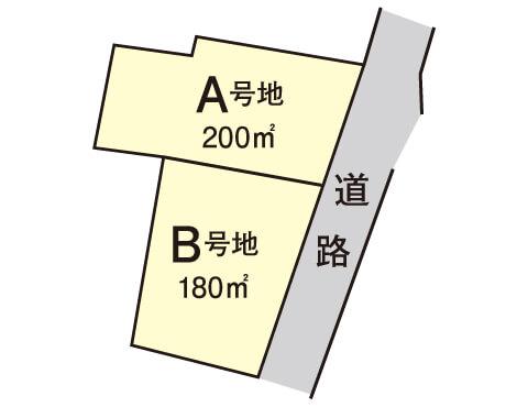 和田町【限定2区画】区画図