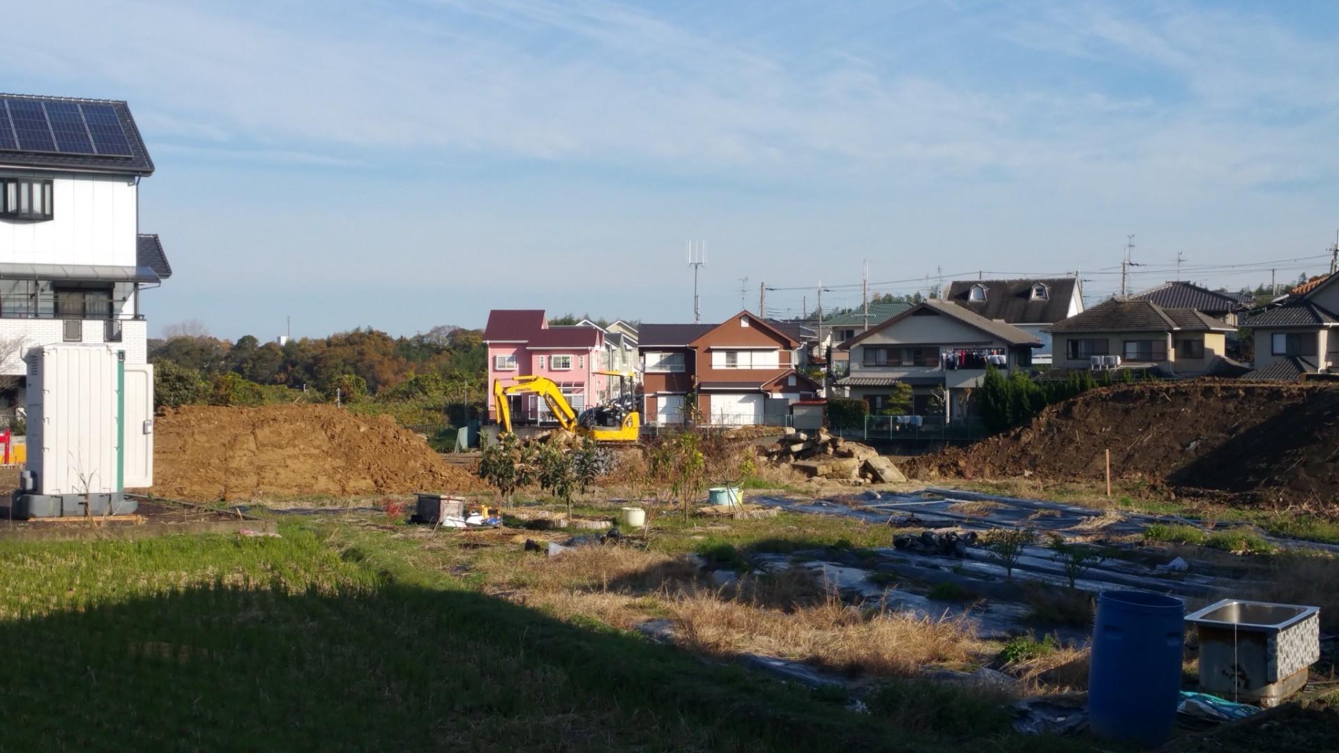 熊取町造成工事が新規スタート – フランホーム