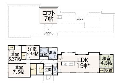 南泉ヶ丘【モデルハウス販売】区画図