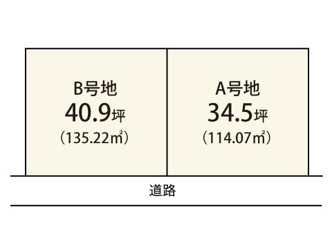 尾生町【限定2区画】区画図