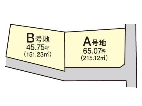 津田南町【限定2区画】区画図