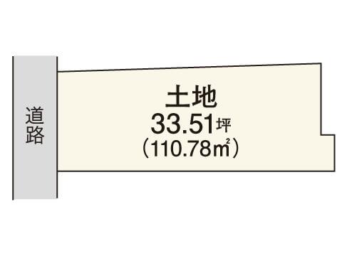 畑町【限定1区画】区画図