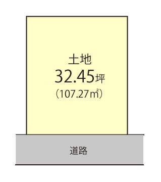 極楽寺町【限定1区画】区画図