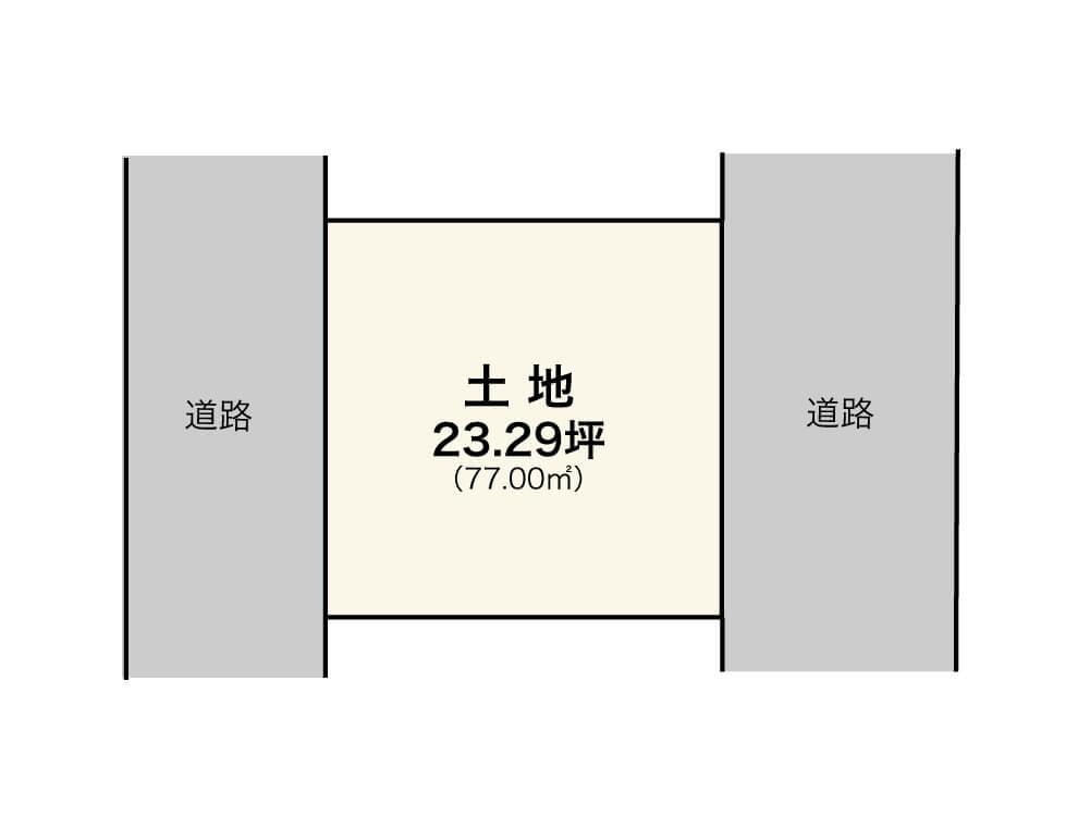 堺市西区浜寺船尾【1区画】区画図