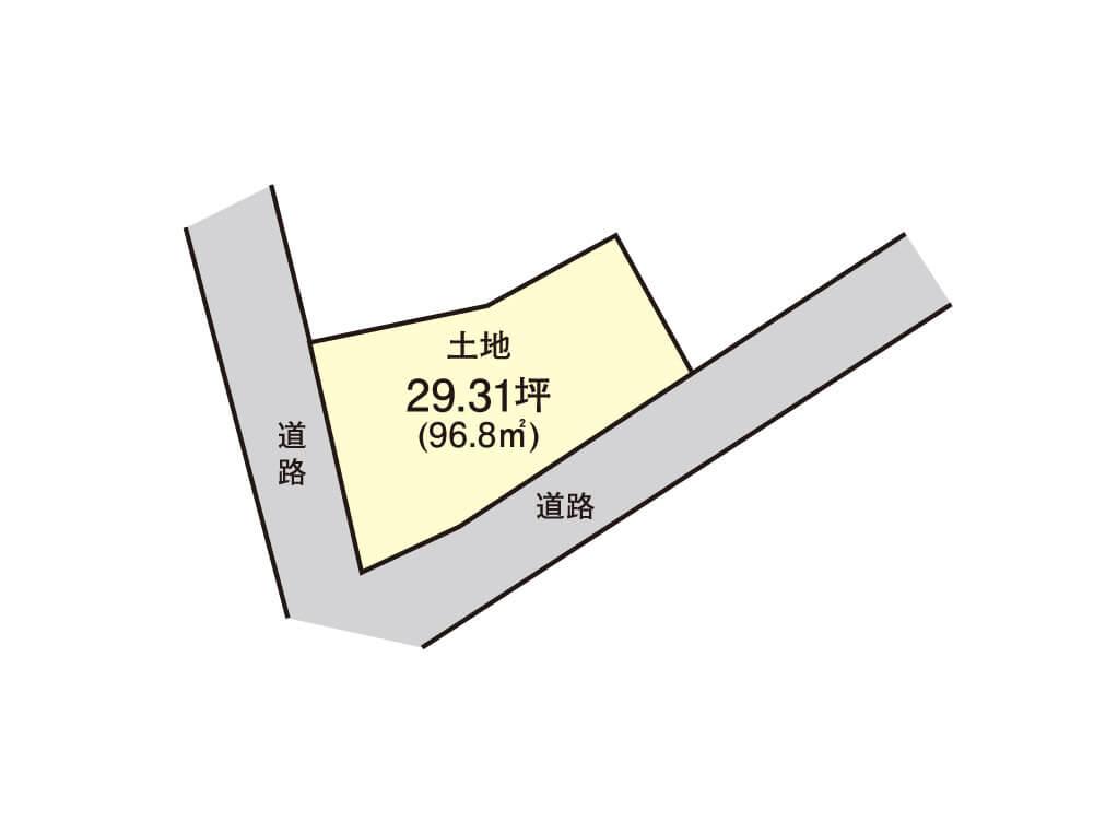 日根野【1区画】区画図